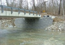 Retaining Walls as Bridge Abutments