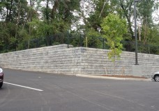 Gravity Retaining Wall Project with Redi-Rock