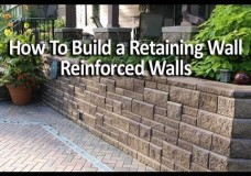 Allan Block Retaining Wall With Geogrid