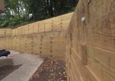 Time Lapse Timber Retaining Wall – Andrew Yaniuk